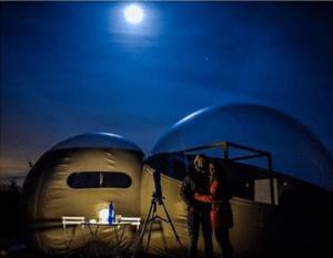 El mejor astroturismo en un aunténtico Hotel Burbuja