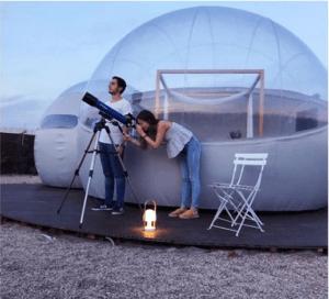 Hotel burbuja, el hotel más original del mundo