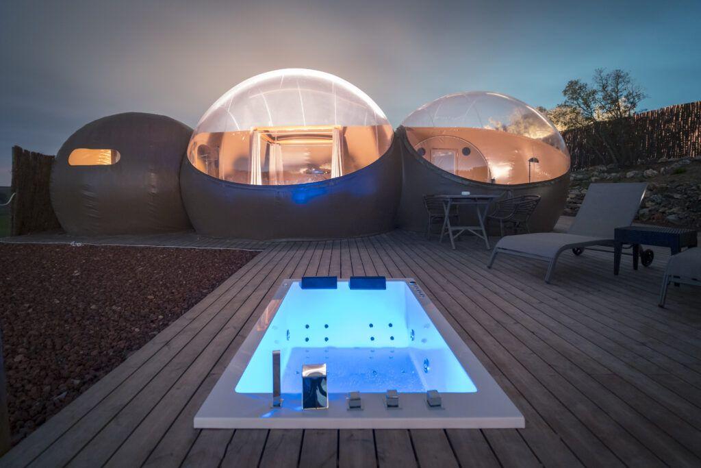Camping de lujo cerca de Madrid