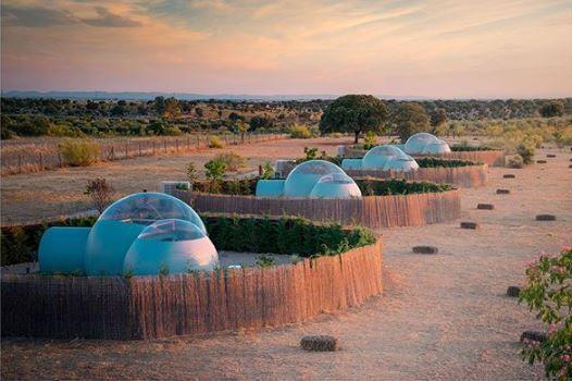 hotel burbuja, burbujas en el desierto, habitaciones burbuja, hotel burbuja en toledo