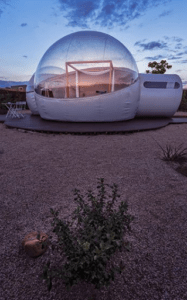 En hotel burbuja valencia podrás descansar en el flotarium en pareja, y ver las estellas en nuestras habitaciones burbujas