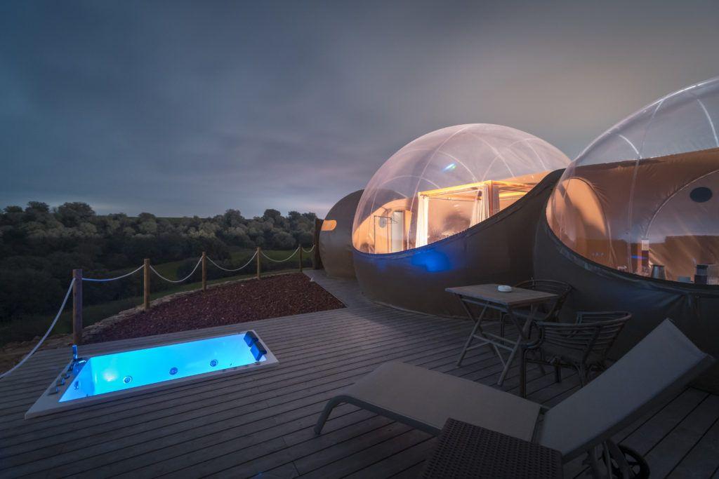 Hotel burbuja: Los mejores regalos originales San Valentín